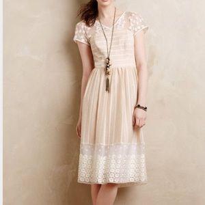 NWT Anthro Moulinette Soeurs Poema Lace Dress